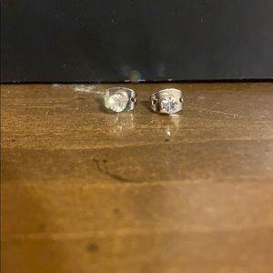 Small CZ Stud Earrings